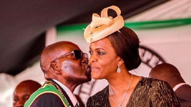 زوجة رئيس الزيمبابوي