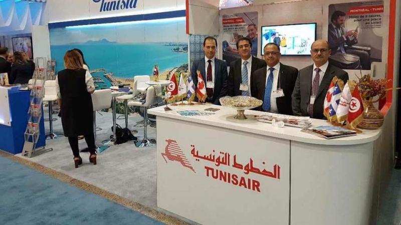 مشاركة الخطوط التونسية في الصالون الدولي للسياحة والسفر بمونتريال