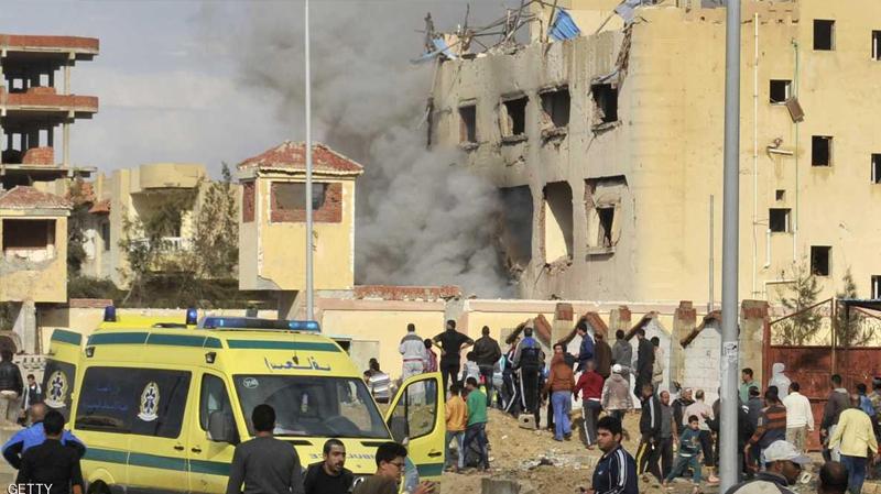 هجوم على مسجد بسيناء