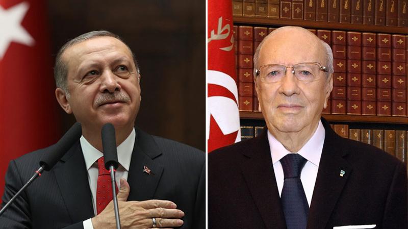 مكالمة بين السبسي و أردوغان حول القدس