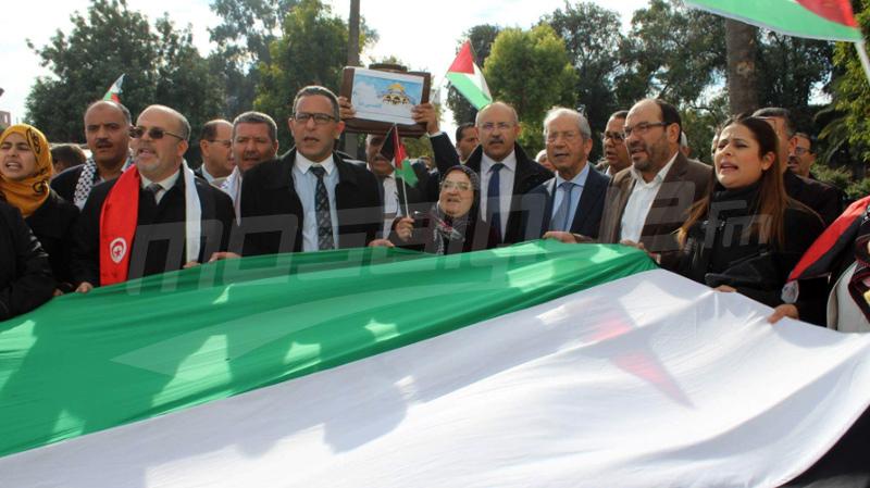 النواب في وقفة احتجاجية: ''القدس لنا ولا لغيرنا''