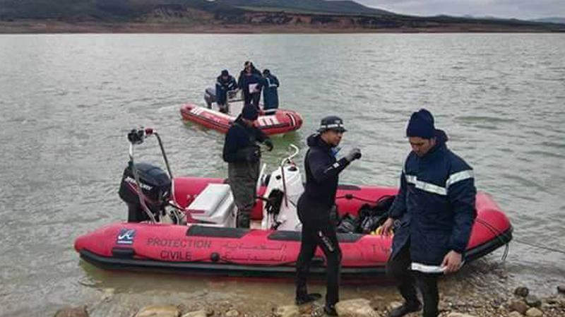 سد سجنان : انتشال جثّة الصياد الثاني