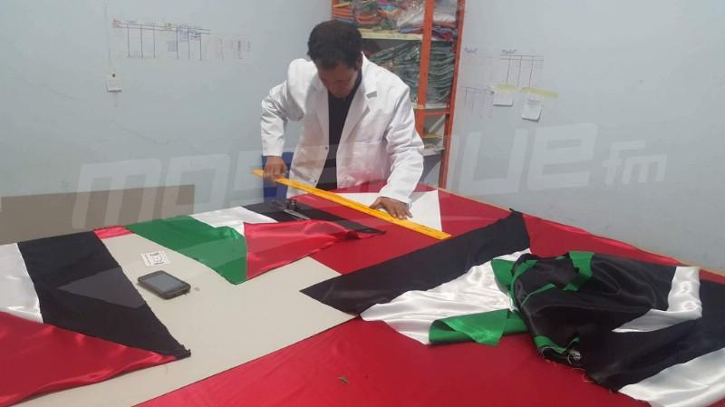 العلمان الفلسطيني والتونسي يرفرفان غدا في مدارس تطاوين