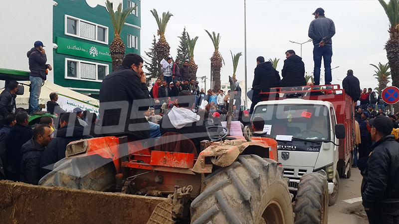 جندوبة: يوم غضب للفلاحين