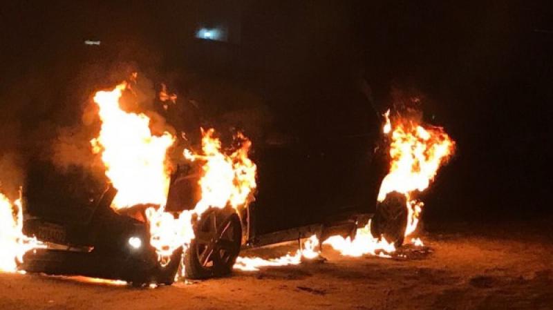 انفجار سيارة لواج