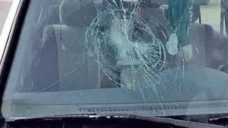 سوسة : محتجون يعتدون على سيارة امنية