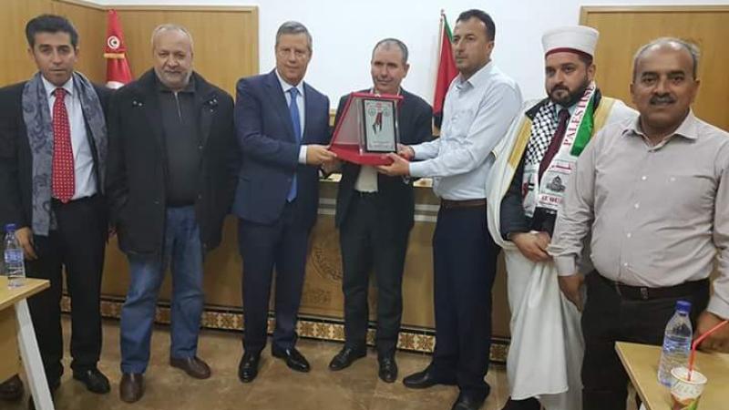 اتّحاد الشغل يكرّم ترجي فلسطين