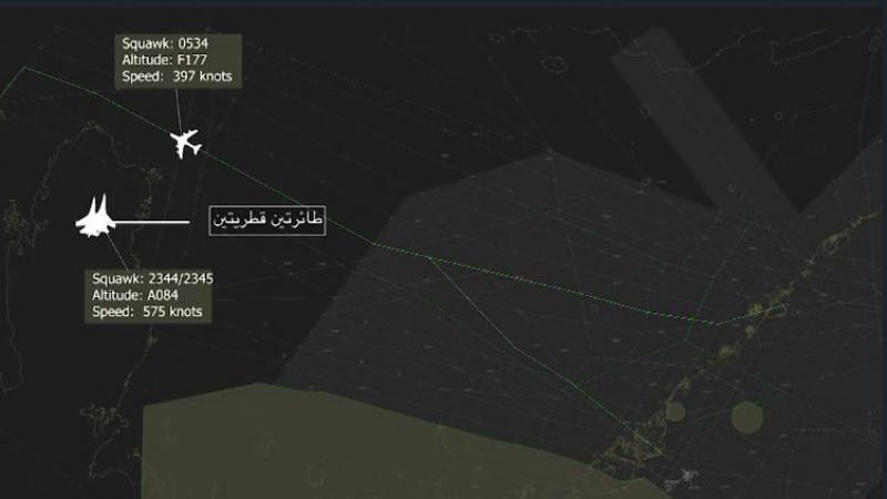 الإمارات تعرض بيانات رادار تثبت اعتراض طائرتيت