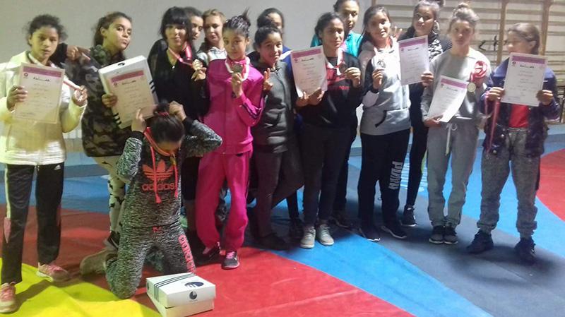 الجمعية النسائية للمصارعة