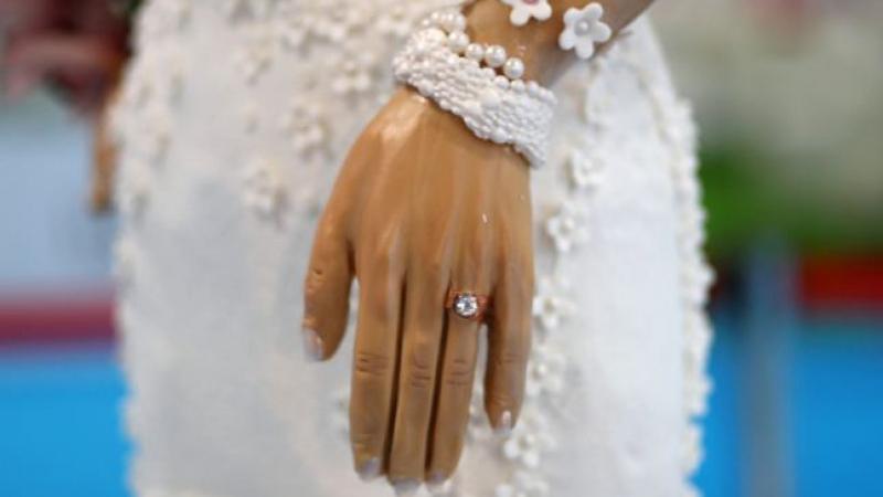 أغلى كعكة زفاف
