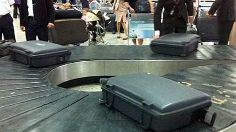 سرقة الأمتعة بالمطارات
