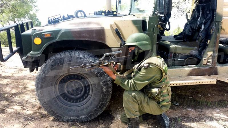 تطاوين : تبادل إطلاق النار بالمنطقة العازلة وحجز ذخيرة