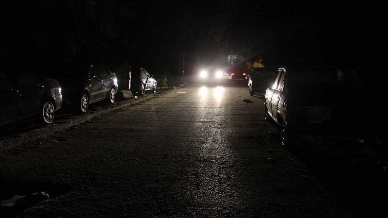 تطاوين :انقطاع التيار الكهربائي بسبب حادث مرور