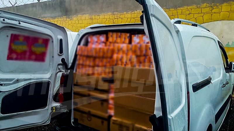 سبيطلة: حجز مواد معدة للتهريب بقيمة 500 ألف دينار