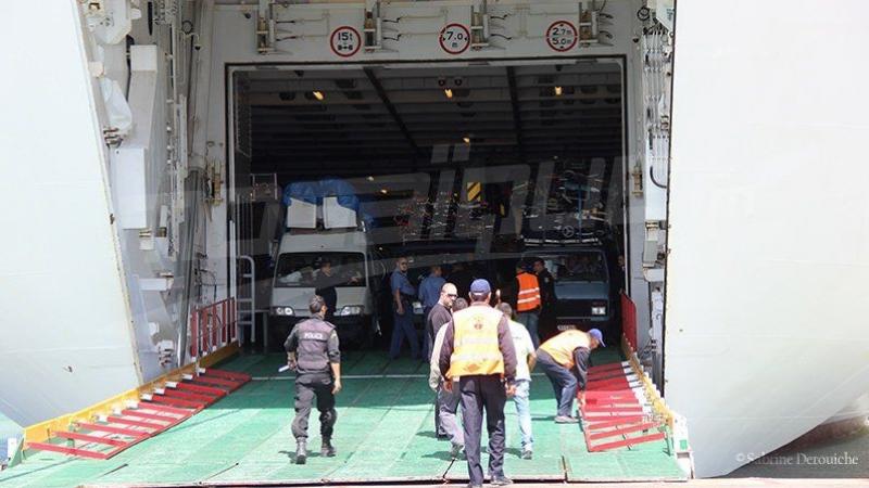 ايقاف 10 أشخاص بميناء حلق الوادي كانوا يعتزمون إجتياز الحدود خلسة