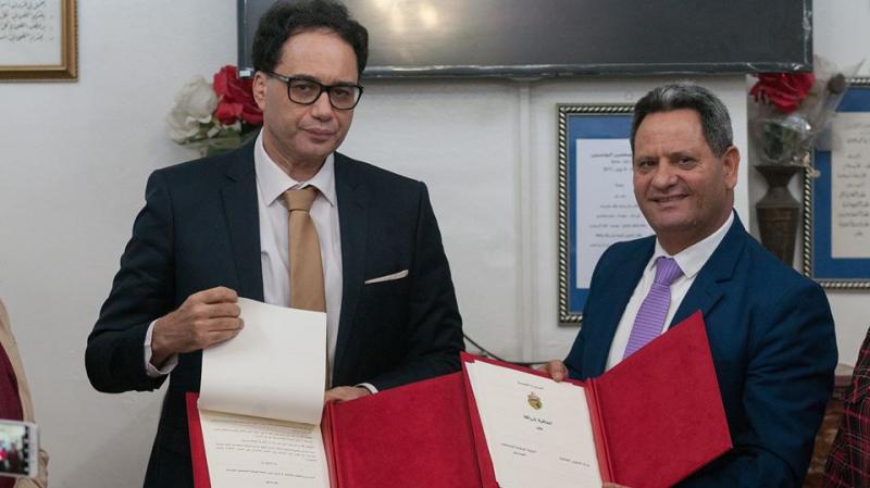 توقيع اتفاقية شراكة بين نقابة الصحفيين ووزارة الشؤون الثقافية