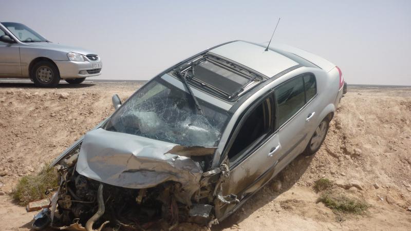 وفاة عائلة جزائرية بأكملها في حادث مرور