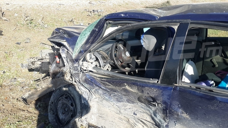 منزل بوزيان: هلاكأب و ابنه في حادث مرور