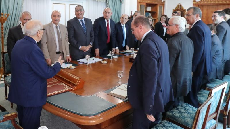 أول اجتماع للمنظمات والأحزاب الموقعة على وثيقة قرطاج
