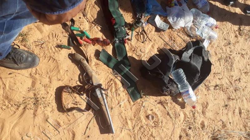 هذا ما عثرت عليه وحدات الحرس في مغارة الإرهابيين
