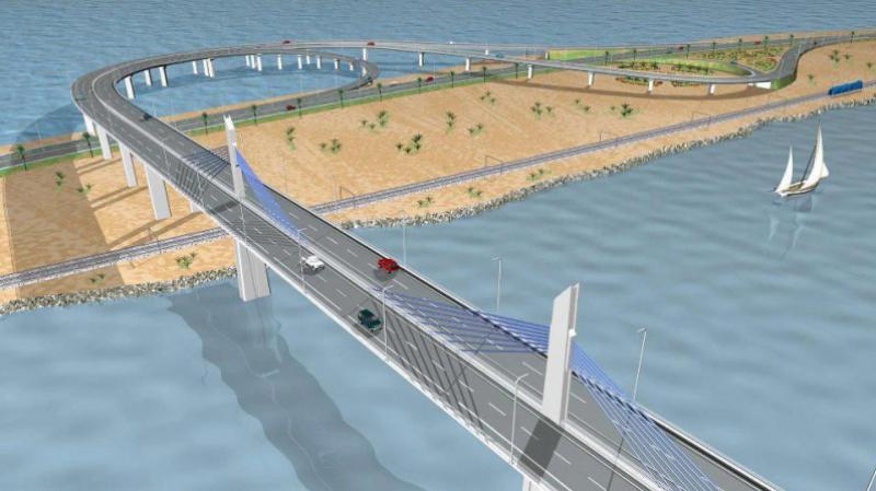 جسر بنزرت الجديد : تخصيص 6 مليارات لتهيئة وتجميل كامل الأحياء القريبة