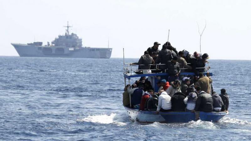 احباط عملية هجرة غير شرعية 