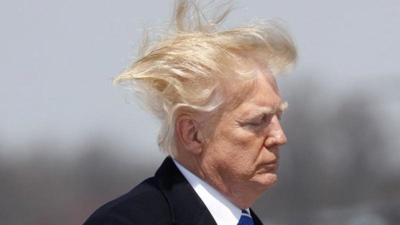 ترامب يقع ضحية الرياح من جديد