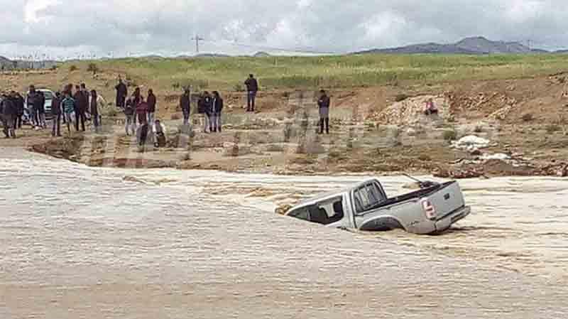 فوسانة: وحدات الحرس تنقذ 3 أشخاصجرفهم 'وادي الرياحي'