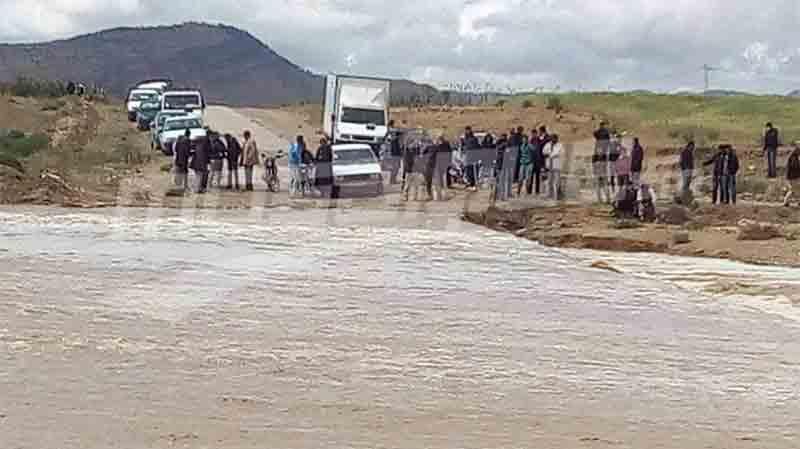 فوسانة : ارتفاع منسوب مياه 'وادي الرياحي' والسلطات تحذّر..