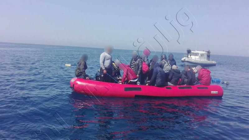 القبض على 19 شخصا في سواحل الهوارية حاولوا الإبحار خلسة