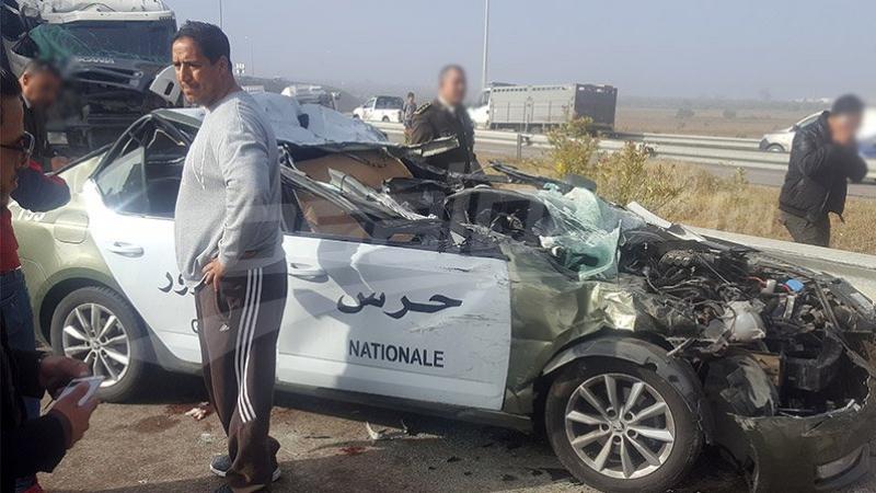 القيروان: القبض على كهل احتفل بوفاة عوني الحرس في حادث كركر