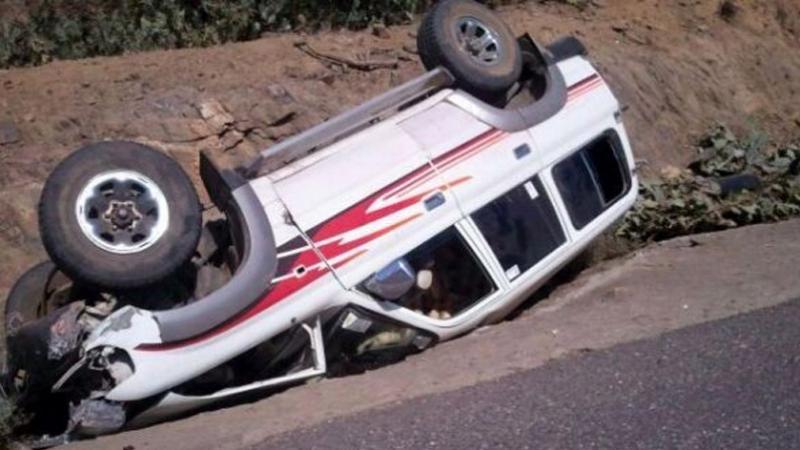 3 قتلى في إصطدام 3 سيارات تهريب في القصرين