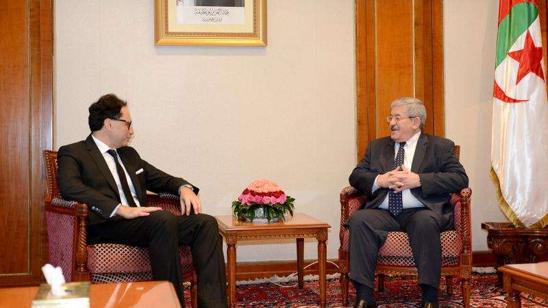 الجزائر: وزير الأول الجزائري يستقبل وزير الشؤون الثقافية