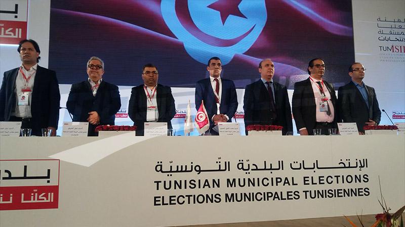 النتائج الأولية للانتخابات البلدية ببلدية تونس