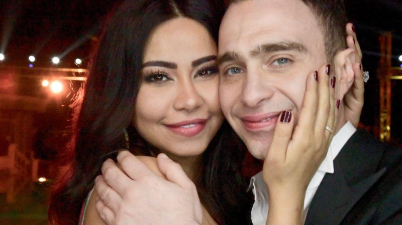 شرين وزوجها