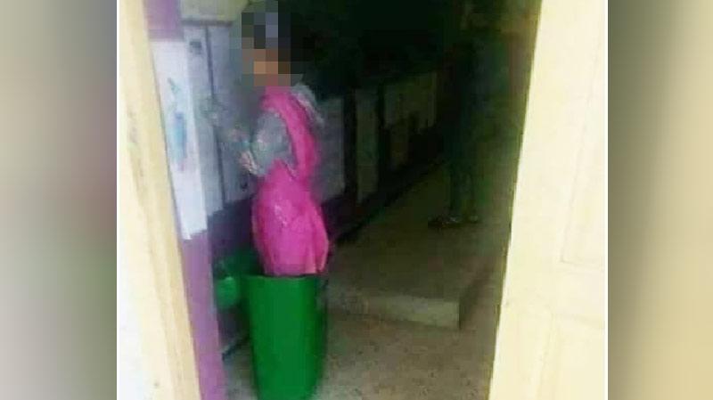الجزائر: فصل أستاذة عاقبت تلميذة بوضعها في سلة المهملات