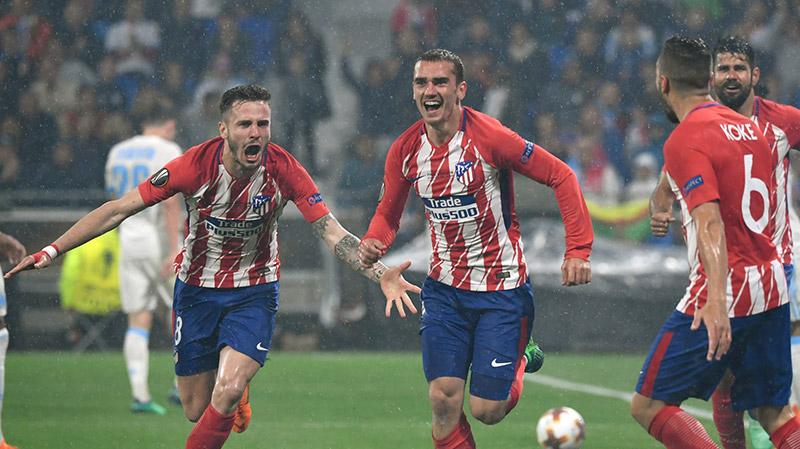 أتلتيكو مدريد يحرز لقب الدوري الأوروبي بعد فوز عريض على مارسيليا
