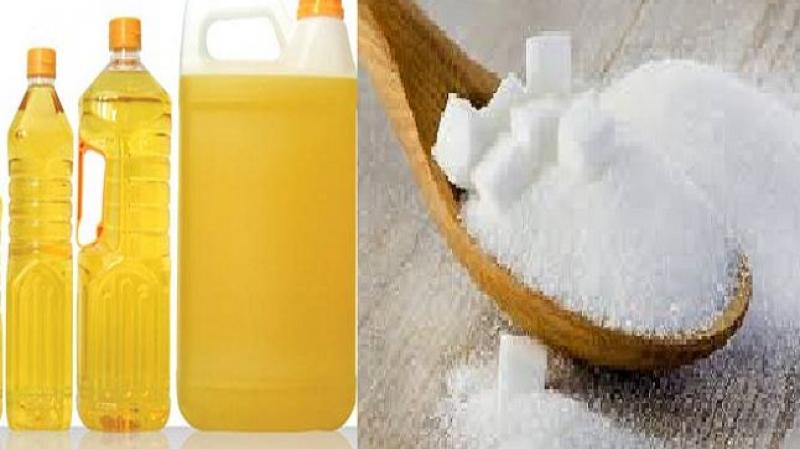 كميات من الزيت المدعم والسكر في نقطة بيع بالمنستير