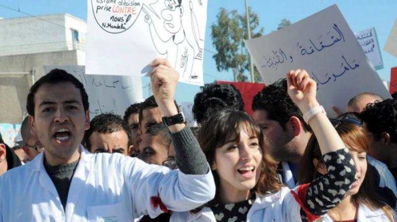 الأطباء الشبان يهددون بالاضراب مجددا
