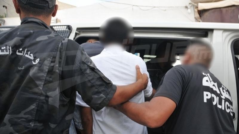 ايقاف479 شخصا مفتشا عنهم  خلال حملات أمنية بكامل تراب الجمهورية