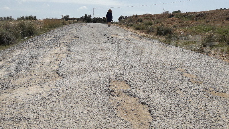 السبيخة:أولاد عون في عزلة بسبب رداءة الطريق