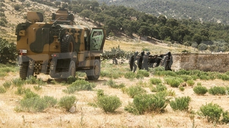 جبل السلوم:اشتباكات بين الجيش الوطني وعناصر إرهابية