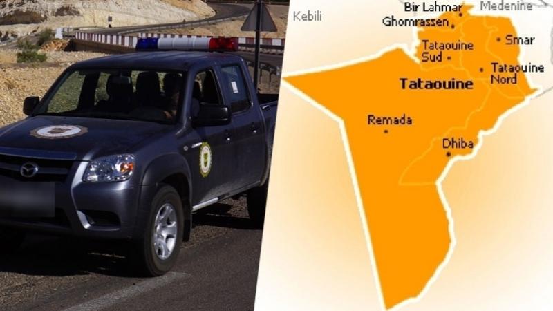 تطاوين: إصابة عون ديوانة بالحجارة في عملية مطاردة مهرّبين