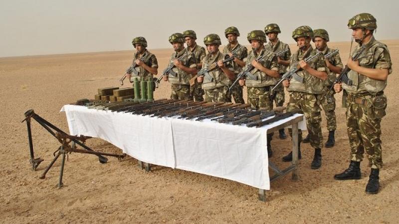 الجزائر : ترسانة من الأسلحة داخل مخبأ