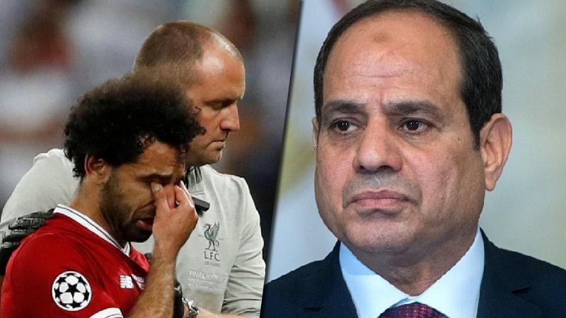 إصابة محمد صلاح: السيسي على الخط