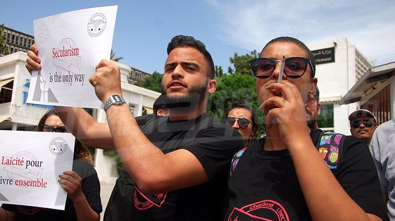 ''موش بالسيف'' : وقفة إحتجاجية للمطالبة بالحق في الإفطار في رمضان