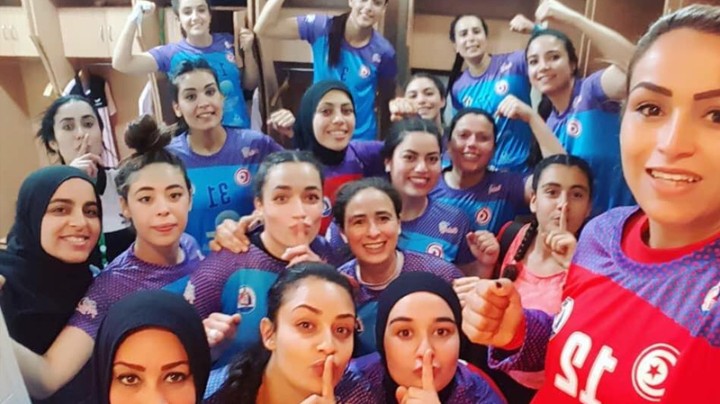 كرة اليد: الجمعية النسائية بطبلبة تُتوّج بكأس تونس