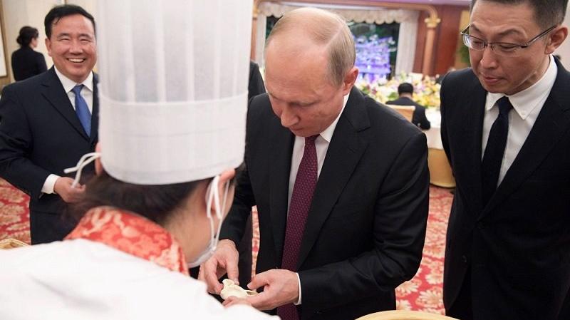 بوتين ونظيره الصيني
