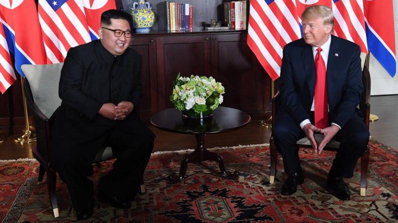 ترامب : 'العقوبات على كوريا الشمالية ستبقى قائمة حاليا..'