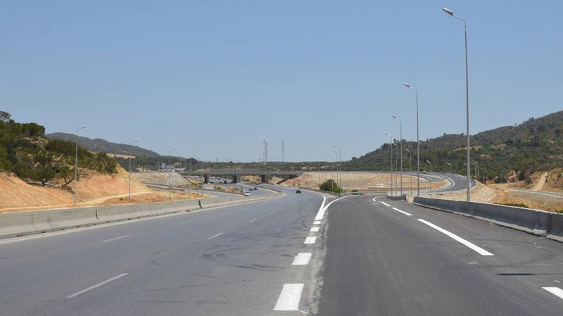 برج السدرية:افتتاح وصلة تربط الطريق الوطنية رقم 1 بالطريق السيارة أ1